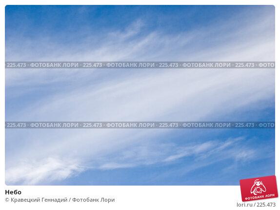 Небо, фото № 225473, снято 9 января 2005 г. (c) Кравецкий Геннадий / Фотобанк Лори