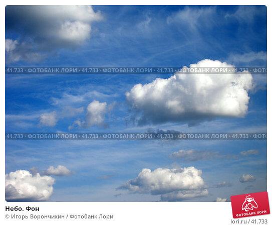 Небо. Фон, фото № 41733, снято 3 июня 2006 г. (c) Игорь Ворончихин / Фотобанк Лори