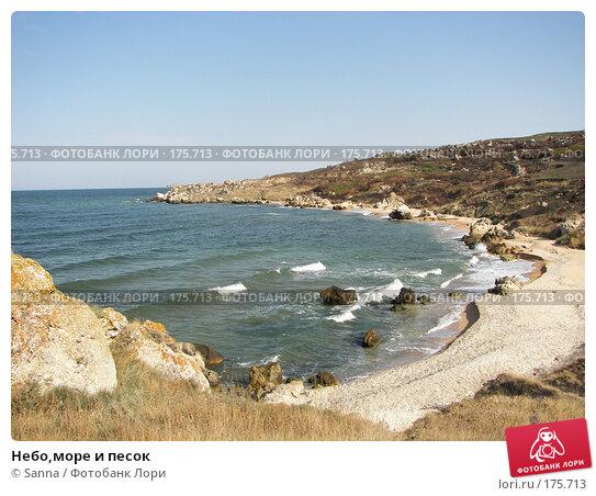 Небо,море и песок, фото № 175713, снято 12 сентября 2007 г. (c) Sanna / Фотобанк Лори