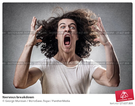 Купить «Nervous breakdown», фото № 27637809, снято 6 февраля 2019 г. (c) PantherMedia / Фотобанк Лори