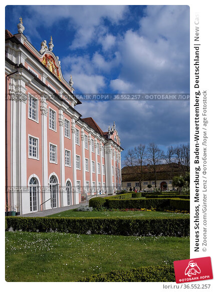 Neues Schloss, Meersburg, Baden-Wuerttemberg, Deutschland  New Castle... Стоковое фото, фотограф Zoonar.com/Günter Lenz / age Fotostock / Фотобанк Лори