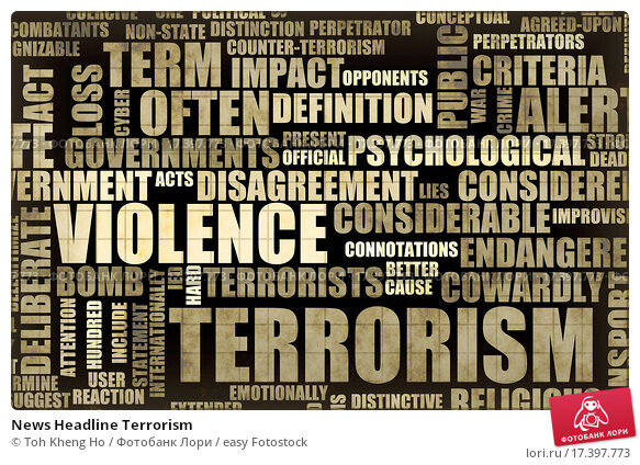 an essay on terrorism happens because