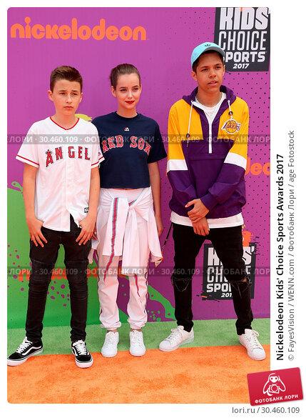 Nickelodeon Kids' Choice Sports Awards 2017. Редакционное фото, фотограф FayesVision / WENN.com / age Fotostock / Фотобанк Лори