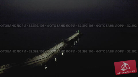 Купить «Night time Ships and Fishing Boats in Vietham harbor Sea port», видеоролик № 32392105, снято 5 ноября 2019 г. (c) Aleksejs Bergmanis / Фотобанк Лори