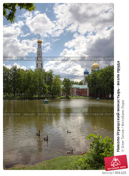 Николо-Угрешский монастырь - возле пруда, фото № 304625, снято 22 января 2017 г. (c) Олег Титов / Фотобанк Лори