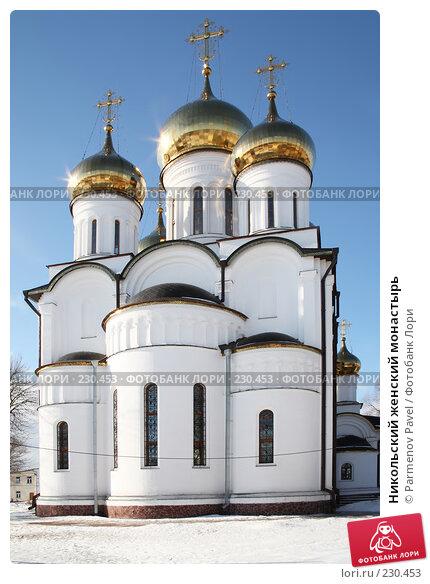 Купить «Никольский женский монастырь», фото № 230453, снято 24 февраля 2008 г. (c) Parmenov Pavel / Фотобанк Лори