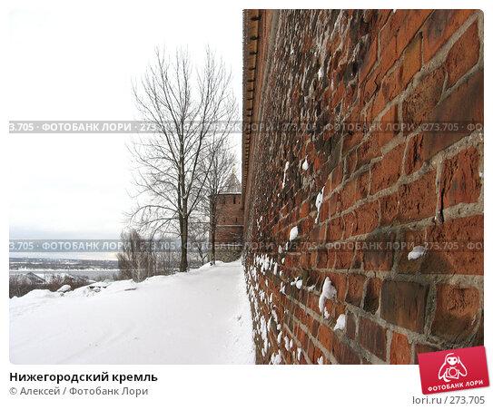 Купить «Нижегородский кремль», фото № 273705, снято 5 марта 2008 г. (c) Алексей / Фотобанк Лори