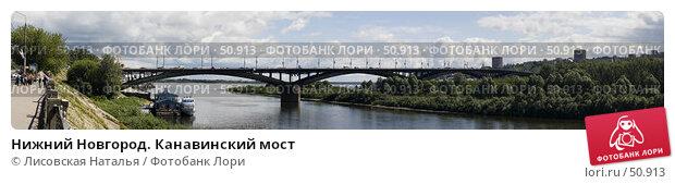 Нижний Новгород. Канавинский мост, фото № 50913, снято 26 июля 2017 г. (c) Лисовская Наталья / Фотобанк Лори