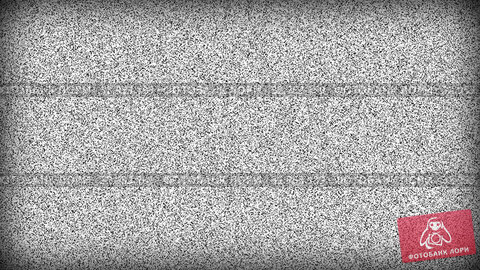 No Signal. Noise on old tv screen with vignette, looping VHS interference. Vintage animated background. 4K video footage. Стоковая анимация, видеограф Dmitry Domashenko / Фотобанк Лори