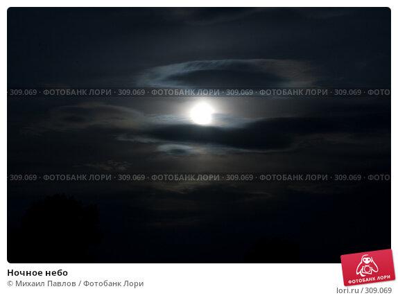 Купить «Ночное небо», фото № 309069, снято 19 мая 2008 г. (c) Михаил Павлов / Фотобанк Лори