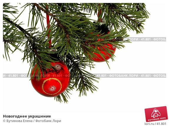 Новогоднее украшение, фото № 41801, снято 21 февраля 2007 г. (c) Бутинова Елена / Фотобанк Лори