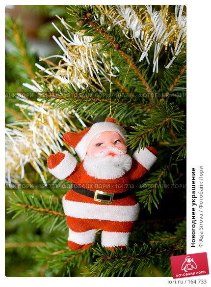 Новогоднее украшение, фото № 164733, снято 24 декабря 2007 г. (c) Asja Sirova / Фотобанк Лори