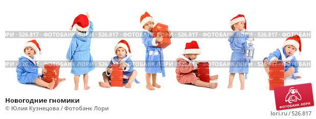 Купить «Новогодние гномики», фото № 526817, снято 22 ноября 2017 г. (c) Юлия Кузнецова / Фотобанк Лори