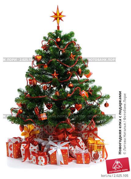 Купить «Новогодняя елка с подарками», фото № 2025105, снято 27 декабря 2009 г. (c) Литова Наталья / Фотобанк Лори