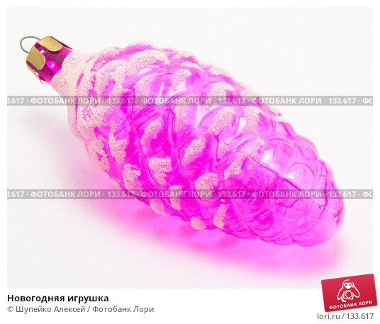 Купить «Новогодняя игрушка», фото № 133617, снято 4 ноября 2007 г. (c) Шупейко Алексей / Фотобанк Лори