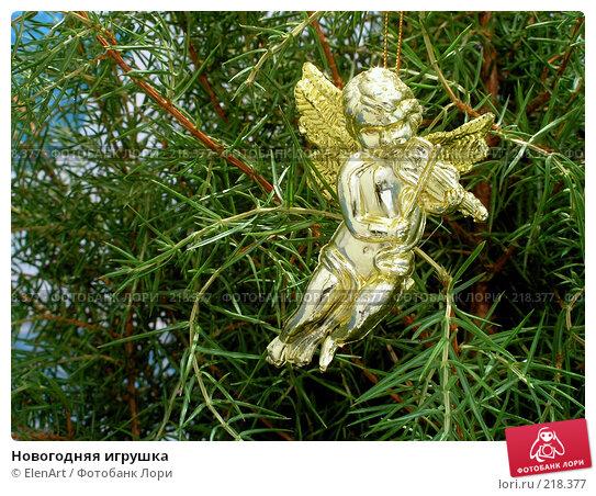 Новогодняя игрушка, фото № 218377, снято 4 декабря 2016 г. (c) ElenArt / Фотобанк Лори