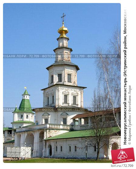 Новоиерусалимский монастырь (Истринский район, Московская область), фото № 72709, снято 1 мая 2006 г. (c) Марина Грибок / Фотобанк Лори