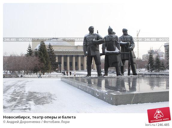 Новосибирск, театр оперы и балета, фото № 246485, снято 18 января 2007 г. (c) Андрей Доронченко / Фотобанк Лори