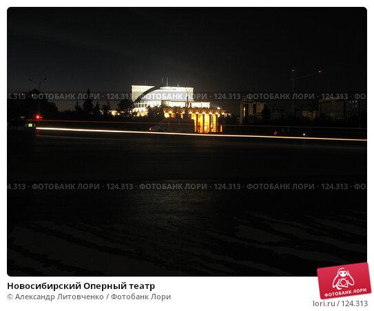 Новосибирский Оперный театр, фото № 124313, снято 31 августа 2007 г. (c) Александр Литовченко / Фотобанк Лори