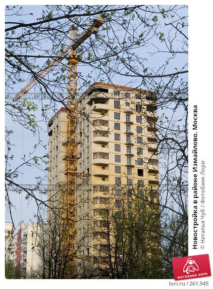 Купить «Новостройка в районе Измайлово. Москва», фото № 261945, снято 24 апреля 2008 г. (c) Наталья Чуб / Фотобанк Лори