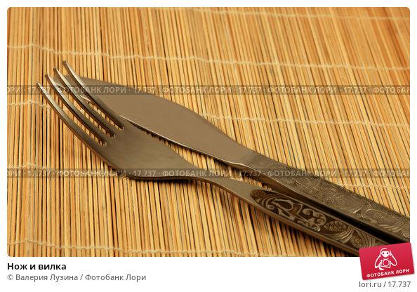 Нож и вилка, фото № 17737, снято 29 января 2007 г. (c) Валерия Потапова / Фотобанк Лори