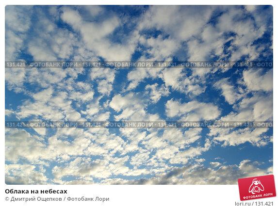 Облака на небесах, фото № 131421, снято 18 июня 2007 г. (c) Дмитрий Ощепков / Фотобанк Лори