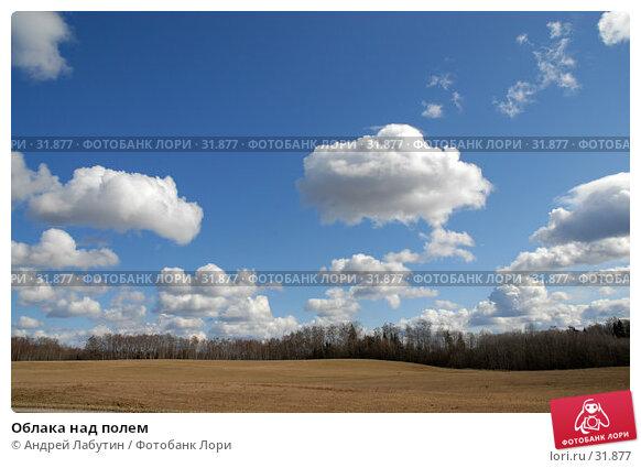 Облака над полем, фото № 31877, снято 7 апреля 2007 г. (c) Андрей Лабутин / Фотобанк Лори