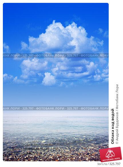 Облака над водой, фото № 325797, снято 3 июня 2008 г. (c) Андрей Бурдюков / Фотобанк Лори