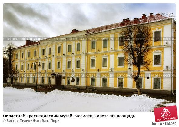 Областной краеведческий музей. Могилев, Советская площадь, фото № 186089, снято 24 мая 2017 г. (c) Виктор Пелих / Фотобанк Лори