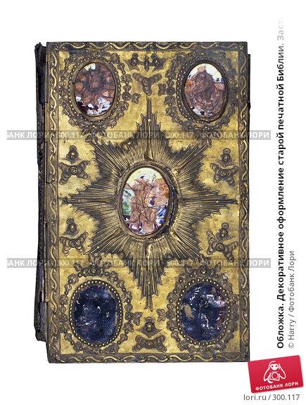 Обложка. Декоративное оформление старой печатной Библии. Застежка, фото № 300117, снято 18 апреля 2008 г. (c) Harry / Фотобанк Лори