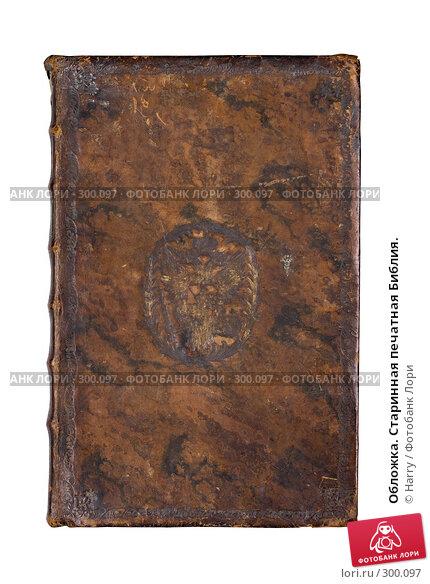 Обложка. Старинная печатная Библия., фото № 300097, снято 17 апреля 2008 г. (c) Harry / Фотобанк Лори