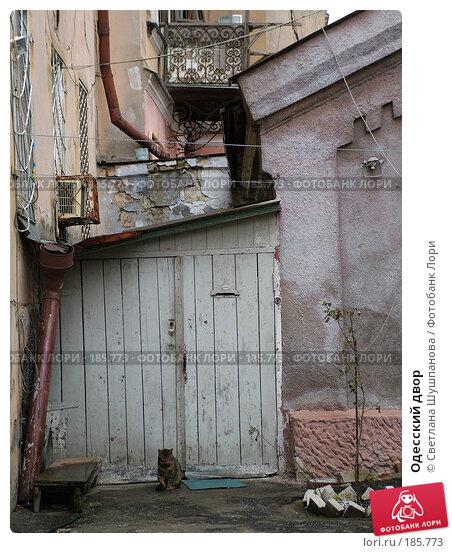 Одесский двор, фото № 185773, снято 10 января 2006 г. (c) Светлана Шушпанова / Фотобанк Лори