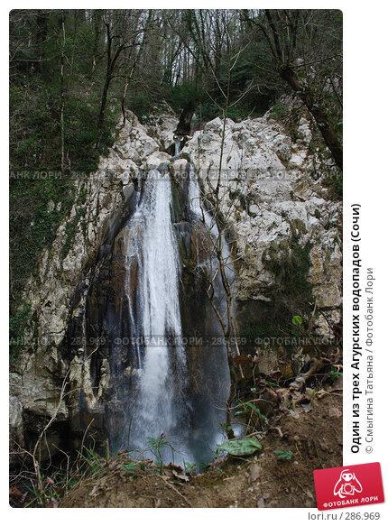 Купить «Один из трех Агурских водопадов (Сочи)», фото № 286969, снято 24 марта 2008 г. (c) Смыгина Татьяна / Фотобанк Лори