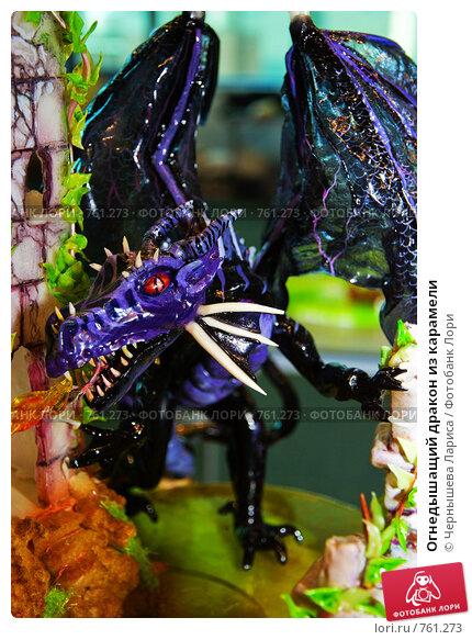 Купить «Огнедышащий дракон из карамели», фото № 761273, снято 19 марта 2009 г. (c) Чернышева Лариса / Фотобанк Лори