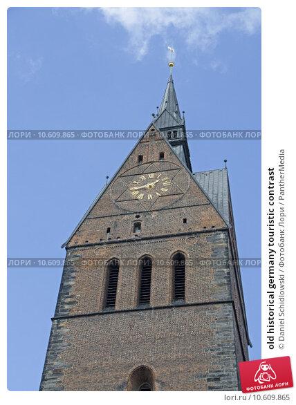 old historical germany touristic contrast. Стоковое фото, фотограф Daniel Schidlowski / PantherMedia / Фотобанк Лори