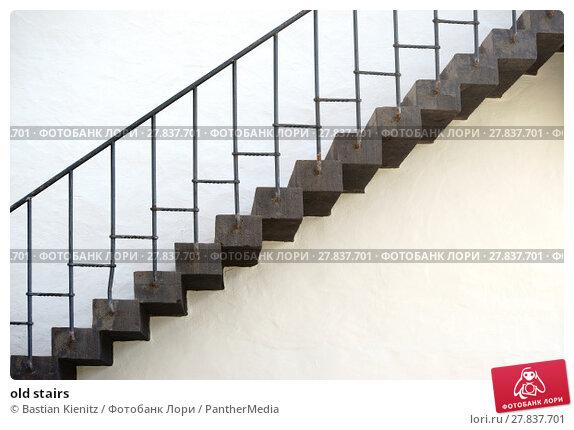 Купить «old stairs», фото № 27837701, снято 19 февраля 2018 г. (c) PantherMedia / Фотобанк Лори