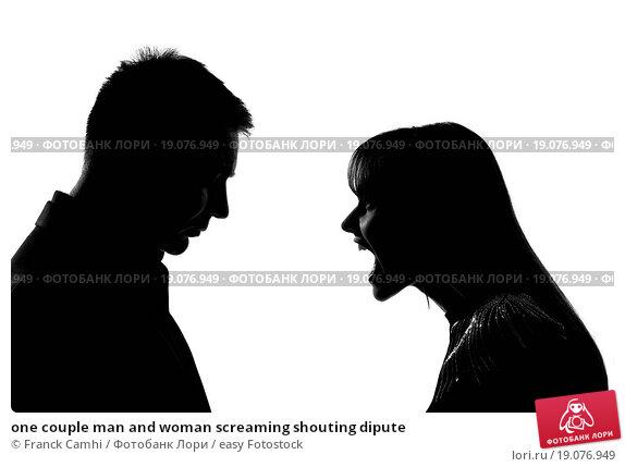 Купить «one couple man and woman screaming shouting dipute», фото № 19076949, снято 10 декабря 2018 г. (c) easy Fotostock / Фотобанк Лори