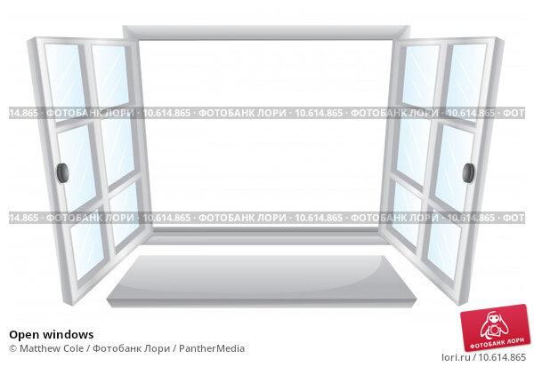 Open windows. Стоковая иллюстрация, иллюстратор Matthew Cole / PantherMedia / Фотобанк Лори