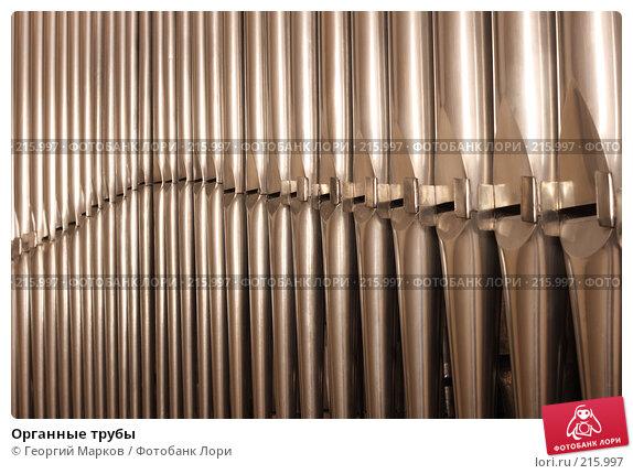 Купить «Органные трубы», фото № 215997, снято 28 января 2008 г. (c) Георгий Марков / Фотобанк Лори