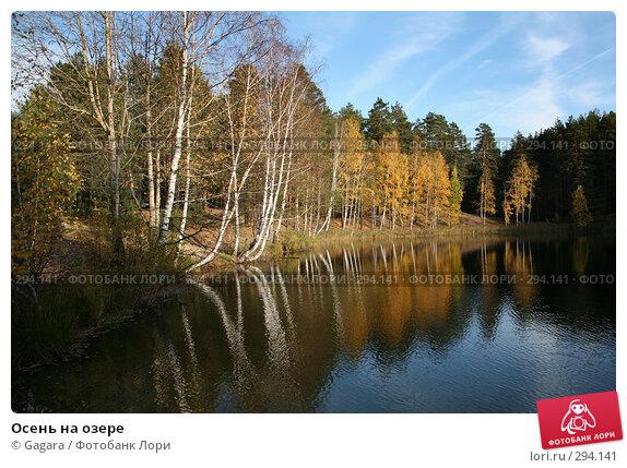 Осень на озере, фото № 294141, снято 7 октября 2007 г. (c) Gagara / Фотобанк Лори