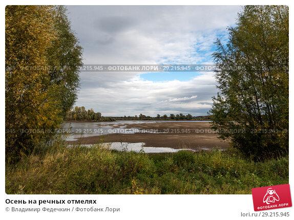 Купить «Осень на речных отмелях», фото № 29215945, снято 1 октября 2018 г. (c) Владимир Федечкин / Фотобанк Лори