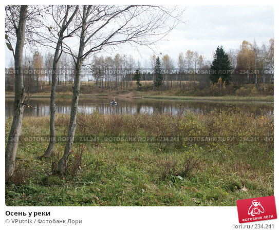 Купить «Осень у реки», фото № 234241, снято 8 октября 2005 г. (c) VPutnik / Фотобанк Лори