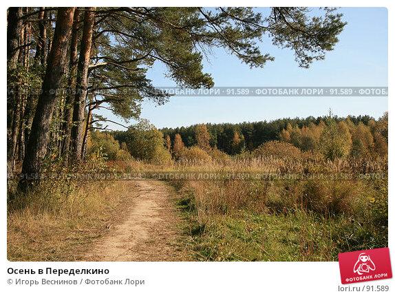 Осень в Переделкино, фото № 91589, снято 2 октября 2007 г. (c) Игорь Веснинов / Фотобанк Лори