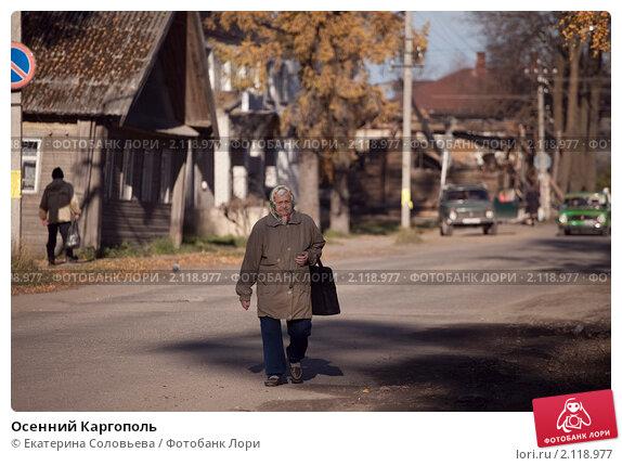 Купить «Осенний Каргополь», фото № 2118977, снято 8 октября 2010 г. (c) Екатерина Соловьева / Фотобанк Лори