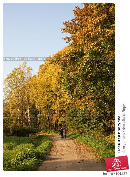 Купить «Осенняя прогулка», фото № 104657, снято 25 апреля 2018 г. (c) Argument / Фотобанк Лори