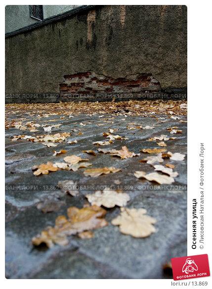 Осенняя улица , фото № 13869, снято 5 ноября 2005 г. (c) Лисовская Наталья / Фотобанк Лори