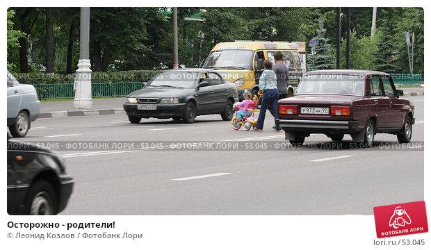 Осторожно - родители!, фото № 53045, снято 16 июня 2007 г. (c) Леонид Козлов / Фотобанк Лори