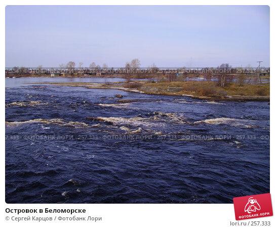 Островок в Беломорске, фото № 257333, снято 6 мая 2006 г. (c) Сергей Карцов / Фотобанк Лори