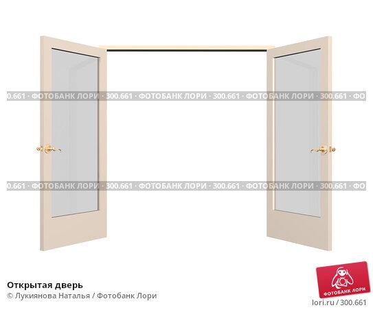 Купить «Открытая дверь», иллюстрация № 300661 (c) Лукиянова Наталья / Фотобанк Лори