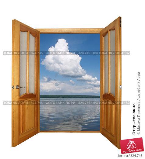Открытое окно, фото № 324745, снято 16 декабря 2006 г. (c) Максим Пименов / Фотобанк Лори